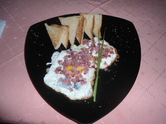 Restaurante Mangle Rojo: desayuno