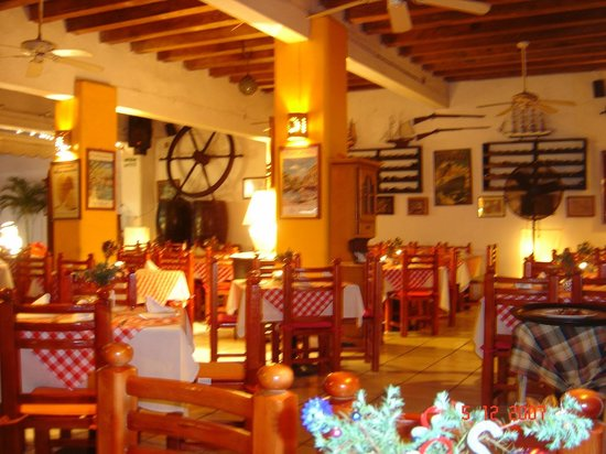 Portofino: restaurant interior