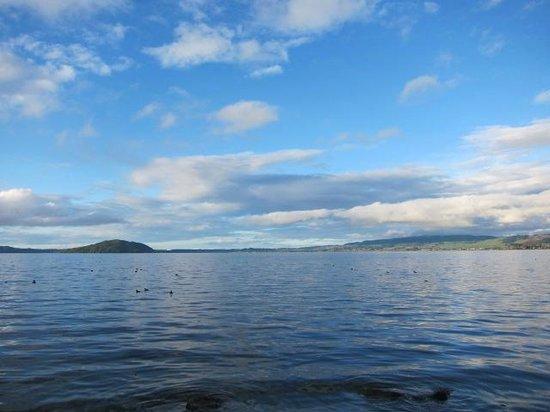 Lake Rotorua: 湖の様子