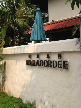 Baan Warabordee: ด้านหน้าโรงแรม