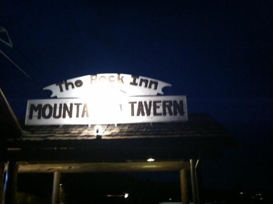 Rock Inn Mountain Tavern: Great Buffalo Burgers !