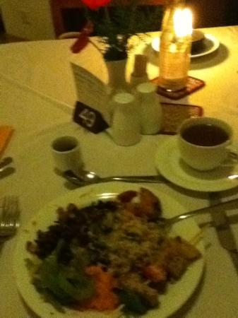 Barberyn Reef Ayurveda Resort: Dinner