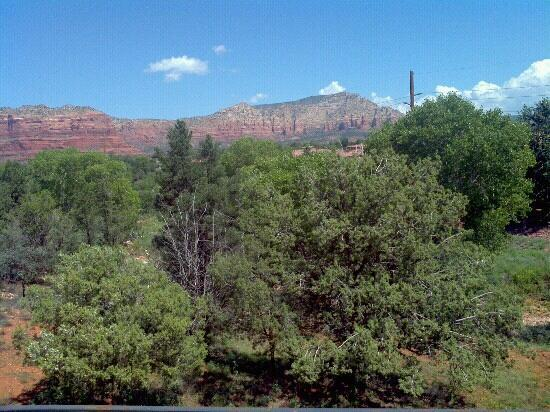 Las Posadas of Sedona: View from our room.