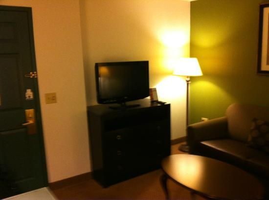 Holiday Inn Express Hotel & Suites Chicago-Deerfield/Lincolnshire: T.V. in living room
