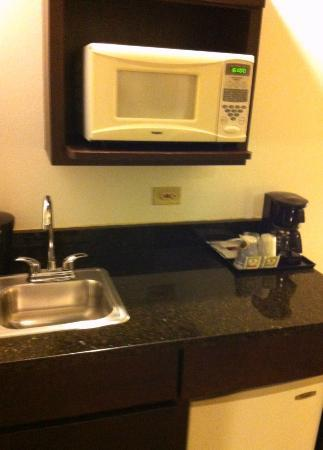 Holiday Inn Express Hotel & Suites Chicago-Deerfield/Lincolnshire : Kitchenette