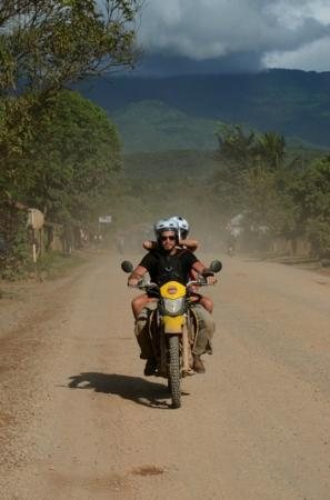 Vang Vieng, Laos: Getting through the dust