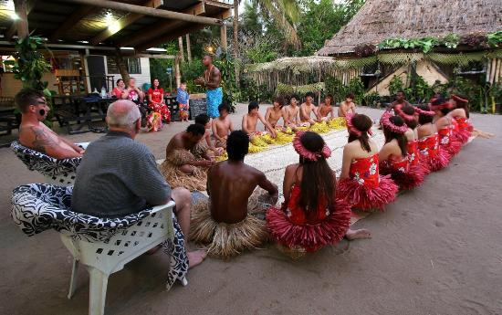 Robinson Crusoe Island Resort: The Kava ceremony