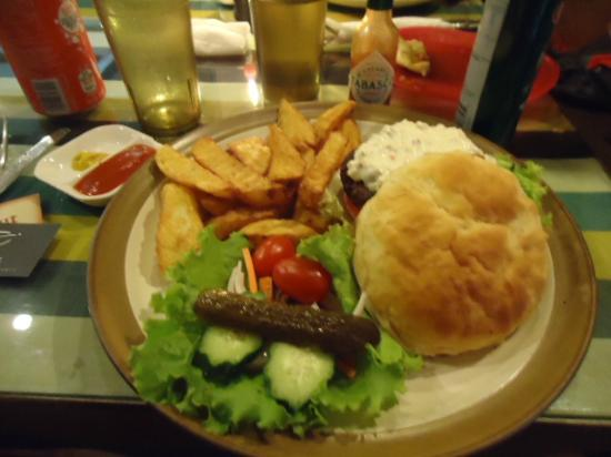 The Compass : Best Burger in Shagri-la