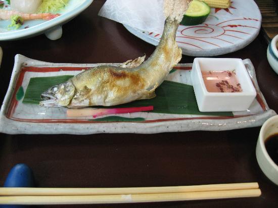 Hotel Parens Onoya: 鮎の塩焼き
