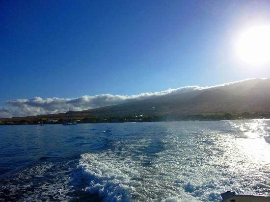 A Touch of Molokai: Leaving Lahaina in the morning