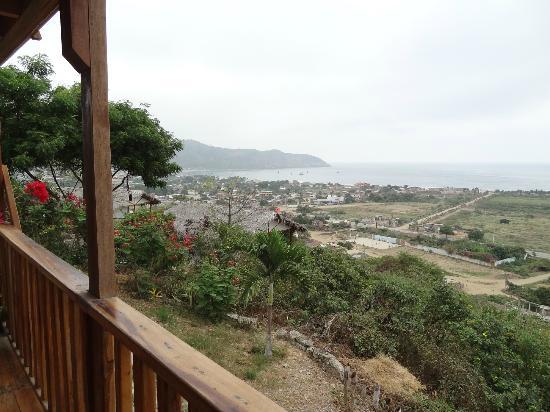 Maremonti B&B: vue de la terrasse