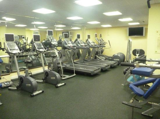 Hilton Moscow Leningradskaya: gym