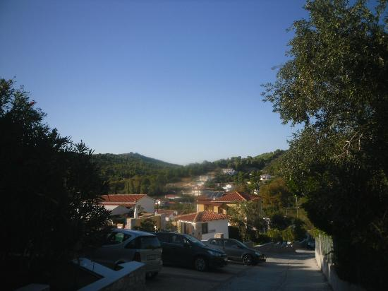 Skiathos Island Suites: Views from pool