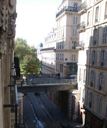 Relais du Pré: Ausblick vom Balkon