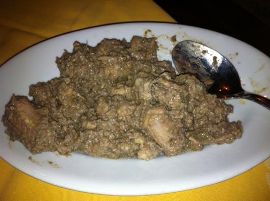 Restaurant Zenit: Burrida