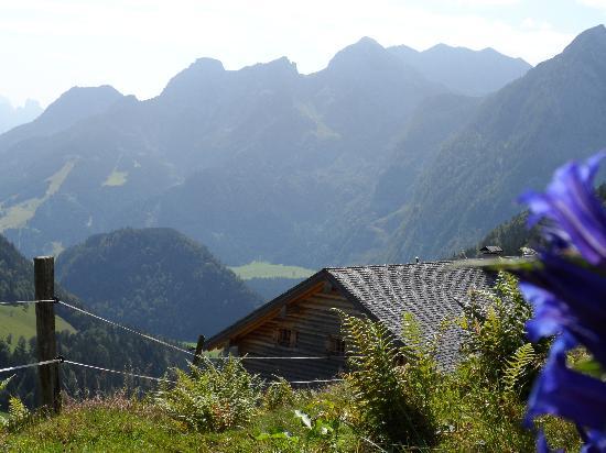 Rocheralm: Vue de la hutte