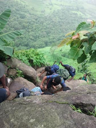 Karjat, India: Most difficult part