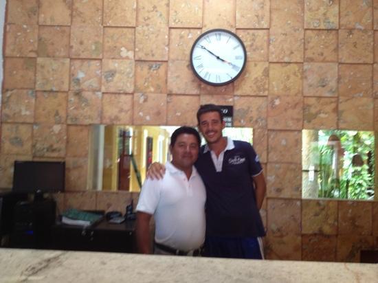 Hotel Las Golondrinas : io e miguel