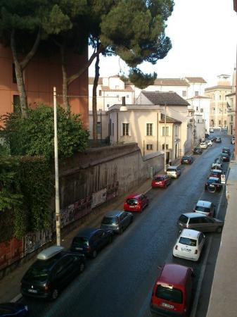 Feliz in Roma: 目の前の鶏