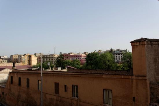 フェリッズ イン ローマ, 部屋からの眺め