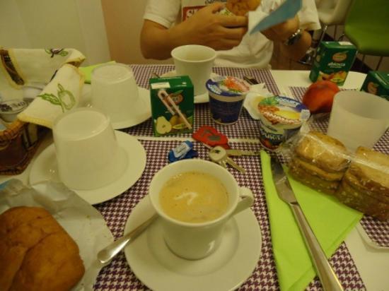 Feliz in Roma: 朝食