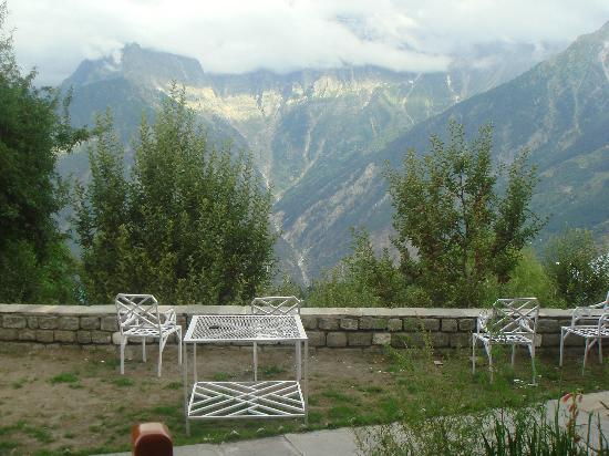 View From The Room Picture Of Hotel Kinner Kailash