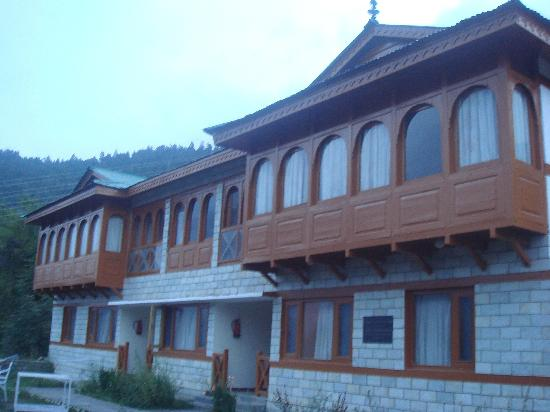 View Of Cottage Picture Of Hotel Kinner Kailash Hptdc