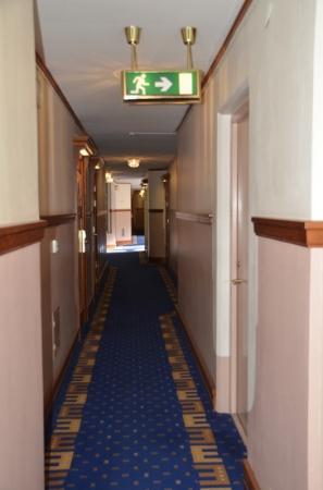 Elite Hotel Residens: Flur