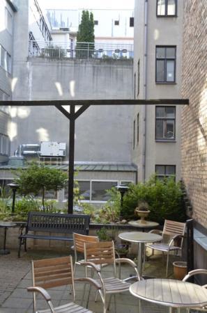 Elite Hotel Residens: Terrasse