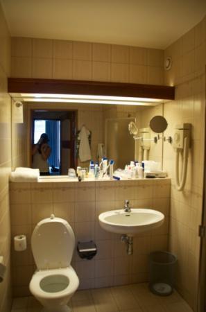 Elite Hotel Residens: Badezimmer