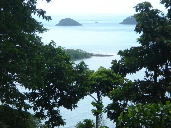 Sea View Resort & Spa Koh Chang: Aussicht Familienzimmer 1. Schlafzimmer