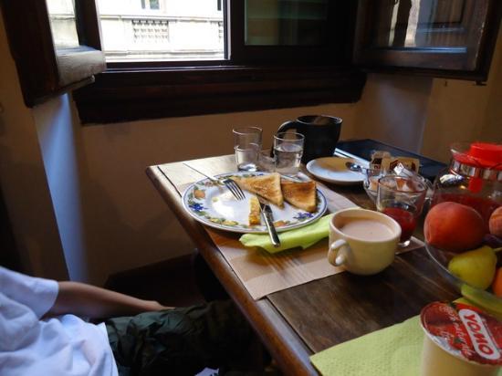 Soggiorno Panerai: 素晴らしい朝食!