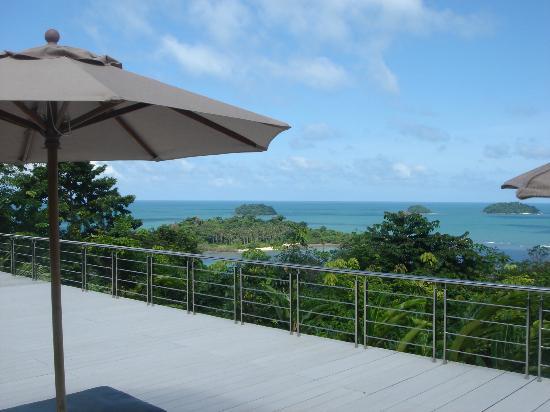 Sea View Resort & Spa Koh Chang: Aussicht vom oberen Pool