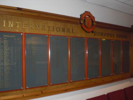 Old Trafford: All national players for United