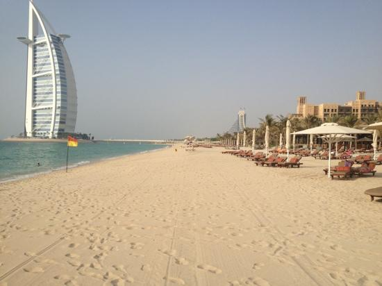 Jumeirah Dar Al Masyaf at Madinat Jumeirah : beach in August