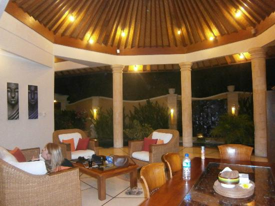 Emerald Villas: Villa A1 Living Area