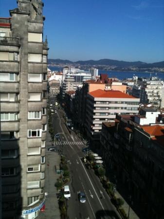 Hotel Zenit Vigo: vista jr suite