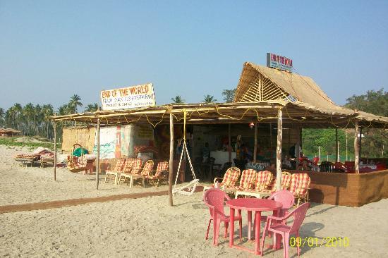 Mandrem Beach: End of the World beach restaurant