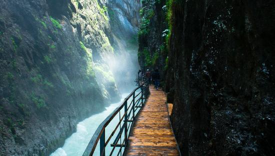 Meiringen, Suiza: Aaregorge