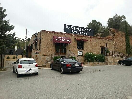 Monistrol de Montserrat, إسبانيا: restaurant pont del gat 