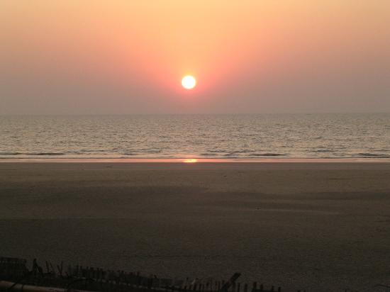 Sunset on Mandrem Beach