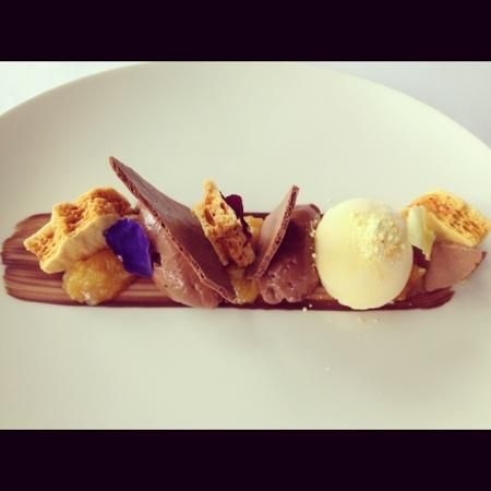 Vasse Felix: chocolate honeycomb sorbet