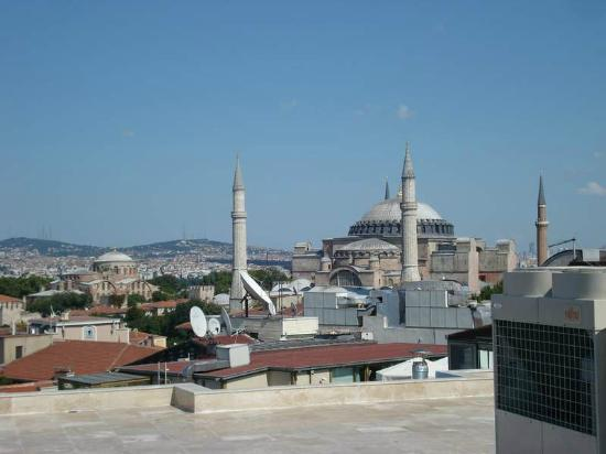 Aldem Hotel: Hagia Sofia From Rooftop