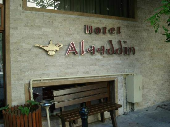 Aldem Hotel: Front of the Hotel