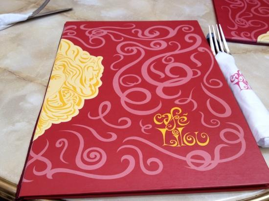 Cafe Lilou Bahrain Cake Menu