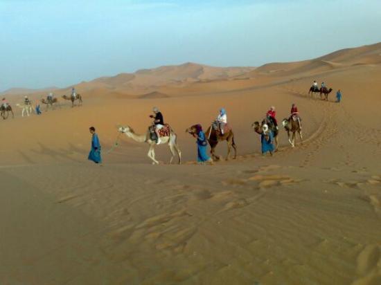 Marruecos-Morocco Travels : viajaremos en camellos  en merzouga
