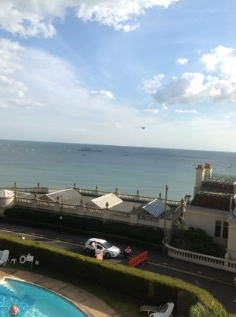 Marsham Court Hotel: View from our room during the Air Festival