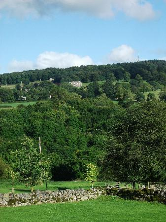 Harthill Hall Holiday Cottages: View from Kitchen window