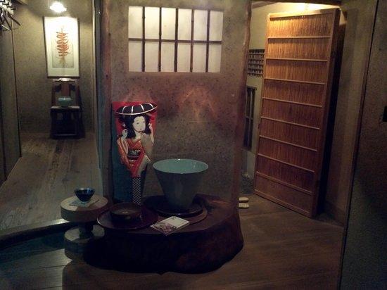 Salon Haraguchi Tenseian: entrance area