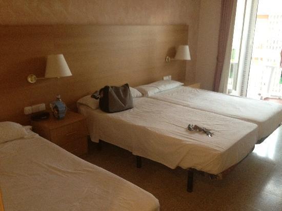 Nereida Hotel : chambre